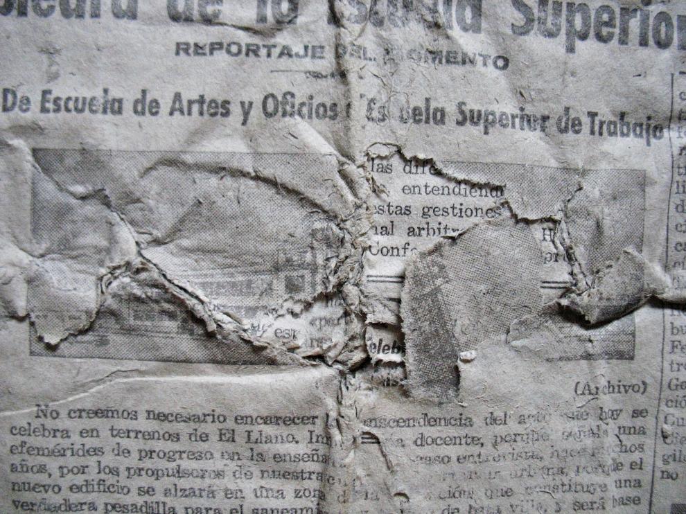 Pérdidas de soporte en uno de los ejemplares de prensa