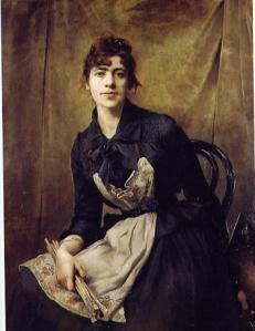 Anna Bilinska,  Autorretrato 1857-1893