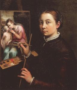 Sofonisba Angissola, pintora de corte